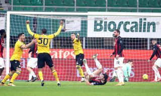Дузпа в 97-ата минута спаси Милан от загуба срещу Удинезе