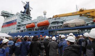 Атомни ледоразбивачи увеличават превоза на товари в Арктика - 1
