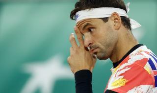 Григор Димитров не успя да се справи с Даниел Еванс и отпадна от турнира във Виена