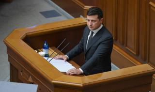 Президентът на Украйна с коронавирус