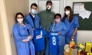 Футболист на Левски видя колко страшен е COVID-19: Лекарите се борят за всеки живот!