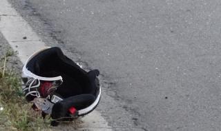 Мотоциклетист загина при катастрофа в Тръстеник