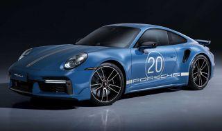 Porsche отбелязва 20 години в Китай със специална версия на 911