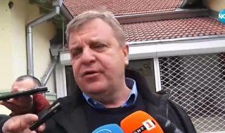 Каракачанов гласува и каза какъв ще бъде следващият парламент