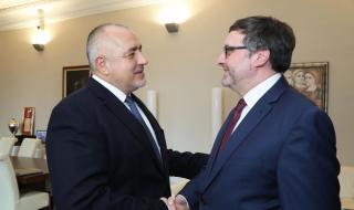 Борисов се срещна със заместник-помощник държавния секретар на САЩ Матю Палмър