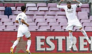 Класикото е за Реал! ''Белия балет'' постави Барселона на колене след силно второ полувреме