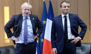 Макрон със заплаха към Великобритания