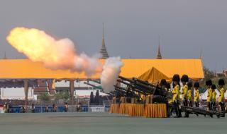 Коронясаха краля на Тайланд