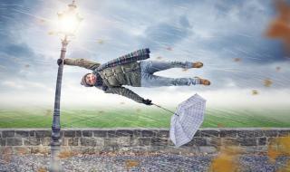 Скоростта на вятъра в Сливен достига над 122 км/ч