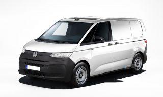 Ето как ще изглежда базовият VW Transporter T7