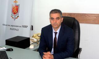 Диян Минков е новият директор на ОДМВР – Разград