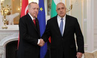 Ердоган с големи похвали за Борисов