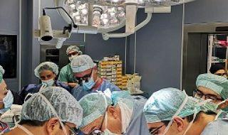Лекарите от ВМА с трета трансплантация на черен дроб за годината - 1
