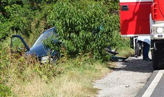 Шофьор уби друг при челен сблъсък във Варненско и избяга
