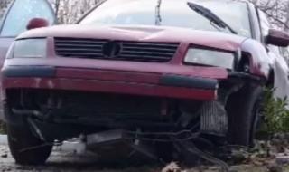 Шофьор изхвърча от пътя и прегази две жени на тротоар в Хасково