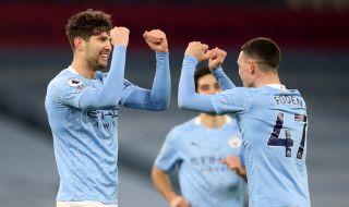 Манчестър Сити отново е на върха след луд мач с Астън Вила (ВИДЕО)