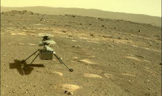 Хеликоптерът на Марс с първи успех
