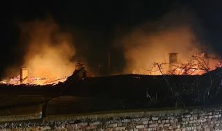 Пожари вилняха в няколко монтански села