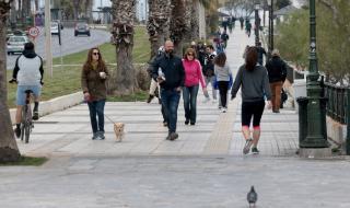 Гърция: Излизаш на улицата – глоба от €5000