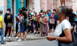 Нова професия в Куба: да чакаш на опашка