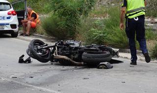 27-годишен мотоциклетист загина при катастрофа в Петричко
