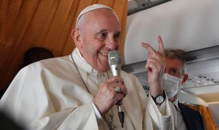 Папата: Църквата няма да благослови еднополовите бракове - 1