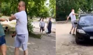 Мъж преби две жени и изпотроши колата им с чук заради неправилно паркиране (ВИДЕО)