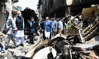 Експерти от Airbus разследват самолетната катастрофа в Пакистан
