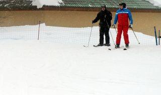 Путин и Лукашенко карат ски заедно (ВИДЕО)