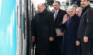 Ердоган: Искам да върна в релси отношенията с Европа!