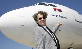 Горан Брегович даде името си на самолет (ВИДЕО)