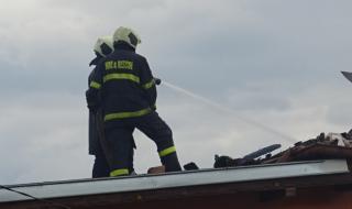 Потушиха голям пожар в Русе