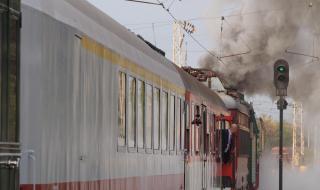 Влак прегази възрастен мъж на гара Казанлък