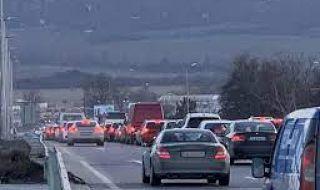 Очаква се силен трафик към София по АМ