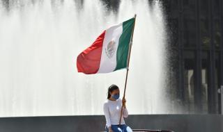 Столицата на Мексико се връща към нормалния живот