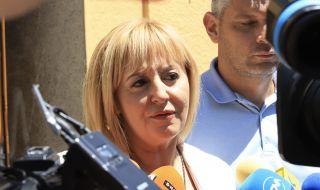 Мая Манолова: Нека служебното правителство да стане редовен кабинет - 1