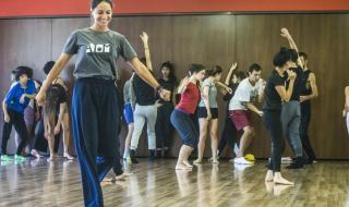 """Съвременни танцьори завладяха пространствата около и в """"Сфумато"""" тази събота"""
