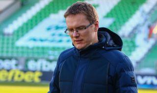 Дамбраускас за мача с ЦСКА: Ще играем нашата игра, съдиите на са роботи
