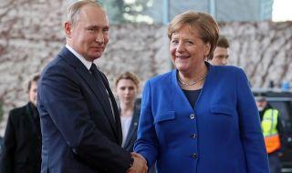 Меркел: ЕС трябва да търси пряк контакт с Москва и Путин!