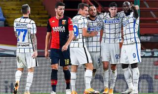 Интер се върна на победния път срещу Дженоа