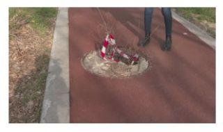 Велоалея за 1 млн. лв. в Сливен вече е на дупки