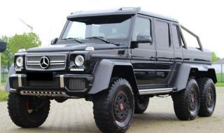 В mobile.bg се продава Mercedes-Benz G 63 AMG 6x6 за 1 401 500 лева без ДДС