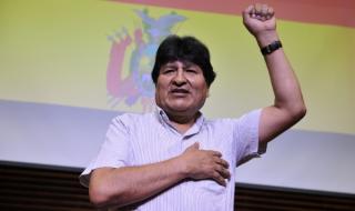 Ево Моралес се върна в Боливия