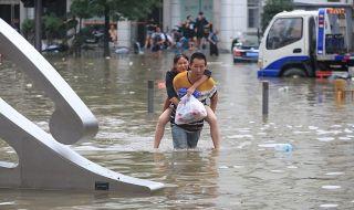 Китай се подготвя за екстремно време и през август