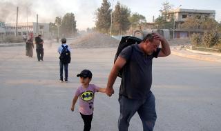 60 000 бягат от Сирия заради войната