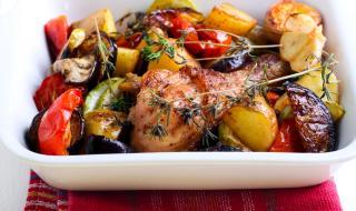 Рецепта за вечеря: Люто пиле с патладжан