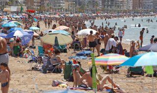 Испания губи милион туристи
