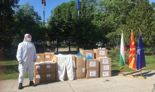 България дари защитни облекла на Северна Македония и Албания
