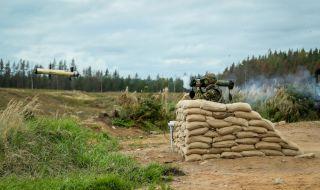 Ракетите Spike показаха точност на маневри в Естония (ВИДЕО)
