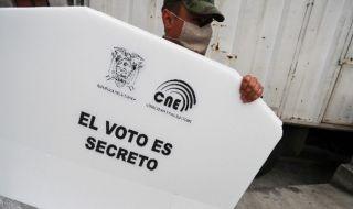 Еквадор избира президент и парламент